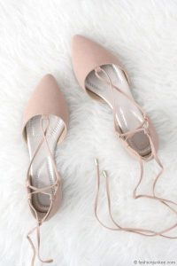 Strappy Ankle Pointed Toe Flats