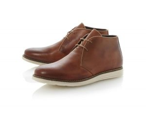 Tan Leather Chukka Boots Mens