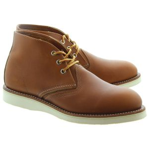 Tan Mens Chukka Boots