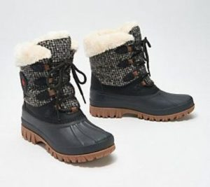 Snow Boots With Spikes